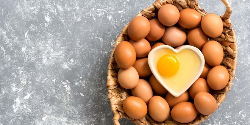 Huevos ricos en vitaminas